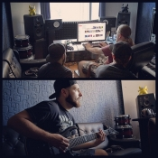 Recording a new single with Jinjer