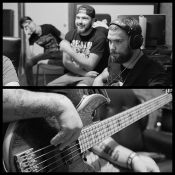 Tracking bass for Jinjer new single